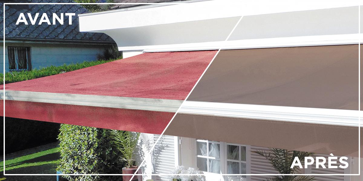 REMPLACER SA TOILE DE STORE RENTOILAGE CASSIS