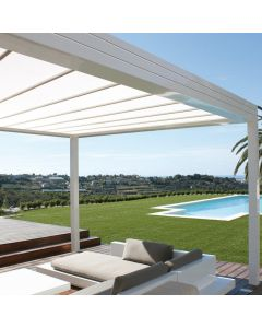 PERGOLA A TOILE RETRACTABLE SOFTOP FLAT